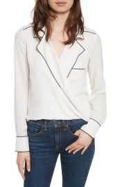 Veronica Beard Worth Silk Blouse at Nordstrom