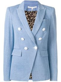 Veronica Beard double-breasted Denim Blazer - Farfetch at Farfetch