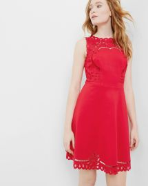 Verony dress in red at Ted Baker
