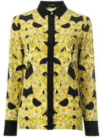 Versace Baroque Print Shirt  at Farfetch
