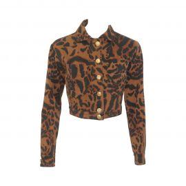 Versace Animal Printed Jacket at 1st Dibs