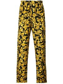 Versace Baroque Print Pajama Bottoms - Farfetch at Farfetch
