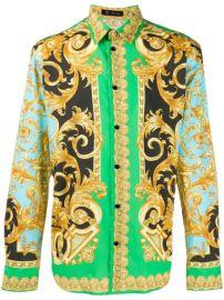 Versace Baroque Print Shirt - Farfetch at Farfetch
