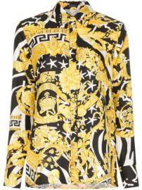 Versace Baroque zebra-print Shirt - Farfetch at Farfetch