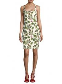 Versace Collection - Printed Sleeveless Dress at Saks Off 5th