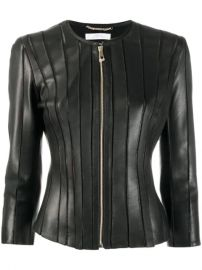 Versace Collection Stitched Panel Jacket - Farfetch at Farfetch
