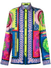 Versace Printed Shirt - Farfetch at Farfetch