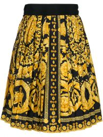 Versace Vintage Baroque Print Skirt  3 480 - Buy Online VINTAGE - Quick Shipping  Price at Farfetch