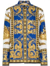 Versace baroque-print Shirt - Farfetch at Farfetch
