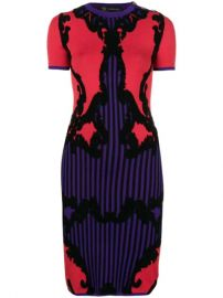 Versace intarsia-knit Dress - Farfetch at Farfetch