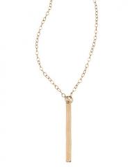 Vertical Bar Necklace at Max & Chloe