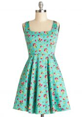 Very Charming Dress in Cranberries at ModCloth