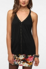 Very similar studded top from Urban Outfitters at Urban Outfitters