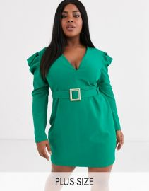 WornOnTV: Loni\'s green puff sleeve dress on The Real | Loni ...