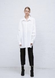 Vetements White Brioni Button Down Shirt at Totokaelo