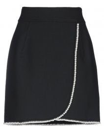 Vicky Simulated Pearl-Trimmed Mini Skirt by Sandro at Yoox