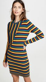 Victor Glemaud Long Sleeve Striped Mini Dress at Shopbop