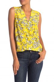 Victor Sleeveless Wrap Blouse at Nordstrom Rack