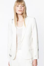 Victor Strass Blazer at Zadig and Voltaire