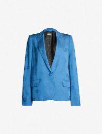 Victor paisley jacquard jacket at Selfridges