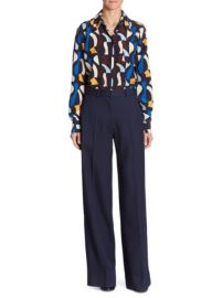 Victoria Beckham Silk Button-Front Shirt at Saks Fifth Avenue