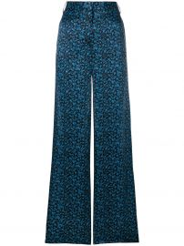 Victoria Victoria Beckham Floral Palazzo Pants  914 - Buy Online - Mobile Friendly  Fast Delivery  Price at Farfetch