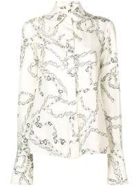 Victoria Beckham  70s Collar Shirt  - Farfetch at Farfetch