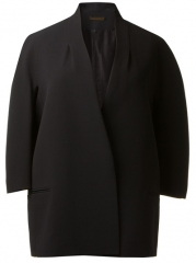 Victoria Beckham Boxy Structured Blazer - Montaigne Market at Farfetch