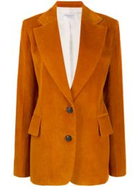 Victoria Beckham Corduroy single-breasted Blazer - Farfetch at Farfetch