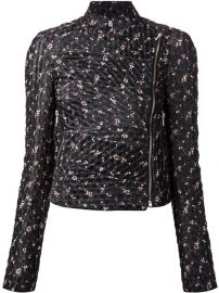 Victoria Beckham Floral Cropped Jacket - at Farfetch