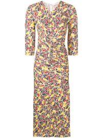 Victoria Beckham Gathered star-print Dress - Farfetch at Farfetch