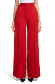 Victoria Beckham High Waist Wool Pants at Nordstrom