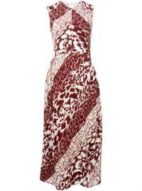 Victoria Beckham Leopard Print Midi Dress - Farfetch at Farfetch
