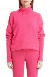 Victoria Beckham Oversize Stretch Cashmere Turtleneck Sweater   Nordstrom at Nordstrom