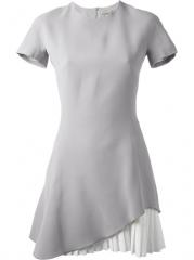 Victoria Beckham Pleated Hem Dress - Anita Hass at Farfetch