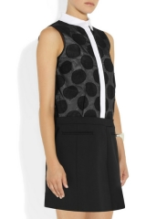 Victoria Beckham Polka Dot Dress at Net A Porter