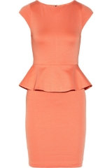 Victoria Peplum Dress by Alice and Olivia at Net A Porter
