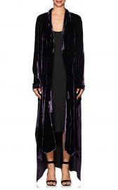 Victoria Velvet Robe Coat at Barneys