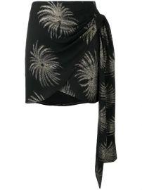 Victoria Victoria Beckham Palm Tree Skirt - Farfetch at Farfetch