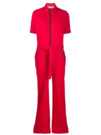 Victoria Victoria Beckham short-sleeved Utility Jumpsuit - Farfetch at Farfetch