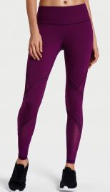 Victorias Secret VSX Sport Knockout Tight PANTS LARGE GRAPE SODA MESH INSERT NWT at eBay