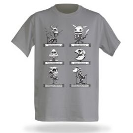 Video Game Cryptids Tee at Think Geek