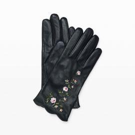 Vidita Embroidered Glove at Club Monaco