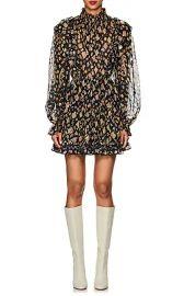 Vienne Silk-Blend Fil Coup   Dress at Barneys
