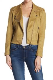Vigoss   Faux Suede Moto Jacket   Nordstrom Rack at Nordstrom Rack