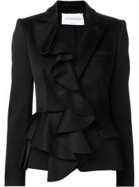 Viktor andamp Rolf Ruffled Front Blazer - Marissa Collections at Farfetch