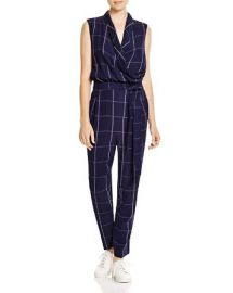 Viktoria and Woods Elite Plaid Jumpsuit at Bloomingdales
