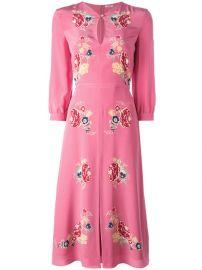 Vilshenko Holly Rose Dress at Farfetch