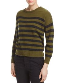 Vince Button Shoulder Cashmere Sweater at Bloomingdales