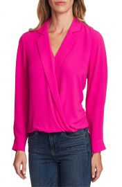 Vince Camuto Faux Wrap Top   Nordstrom at Nordstrom